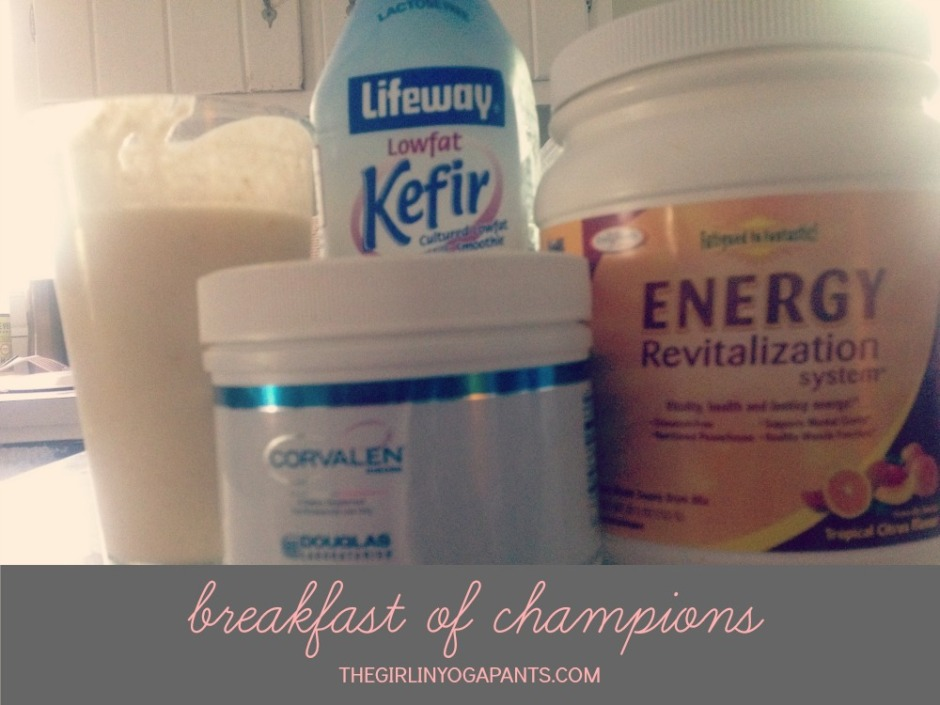 Breakfast of Champions: Corvalen D-ribose, Fatigued to Fantastic Energy Revitalization System, and kefir